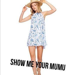🆕Show Me Your MuMu halter dress